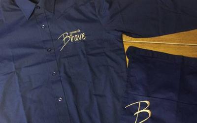 Brasserie de Brave - Kleding Borduren